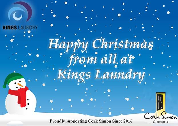 Kings Laundry supporting the Simon Community